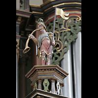 Bremen, St. Ansgarii (Chororgel), Trompetenspieler-Figur