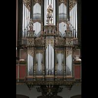 Bremen, St. Ansgarii (Chororgel), Rückpositiv und Hauptwerk
