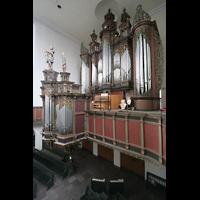Bremen, St. Ansgarii (Chororgel), Orgelempore