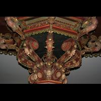 Bremen, St. Ansgarii (Chororgel), Detail der Traube