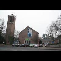 Bremen, St. Ansgarii (Chororgel), Außenansicht