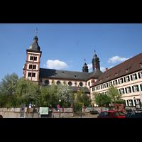 Amorbach, Abteikirche (Fürstliche Kirche), Außenansicht