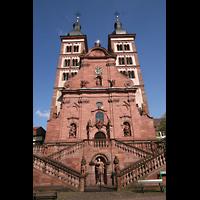 Amorbach, Abteikirche (Fürstliche Kirche), Fassade