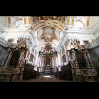 Amorbach, Abteikirche (Fürstliche Kirche), Chorraum