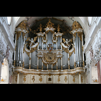 Amorbach, Abteikirche (Fürstliche Kirche), Orgelprospekt