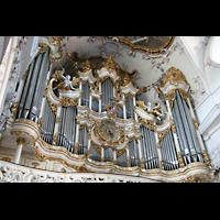 Amorbach, Abteikirche (Fürstliche Kirche), Orgelempore
