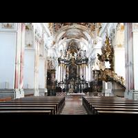 Amorbach, Abteikirche (Fürstliche Kirche), Hauptschiff / Innenraum