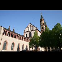 Würzburg, Dom St. Kilian, Seitenansicht