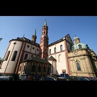 Würzburg, Dom St. Kilian, Chor und Querhaus