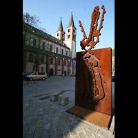 Würzburg, Dom St. Kilian, Gesamtansicht von außen
