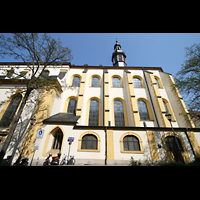 Würzburg, Augustinerkirche, Seitenansicht