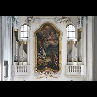 Würzburg, Augustinerkirche, Chororgel