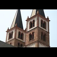 Würzburg, Dom St. Kilian, Türme