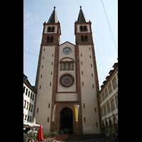 Würzburg, Dom St. Kilian, Fassade