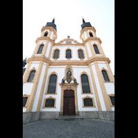 Würzburg, Käppele, Fassade