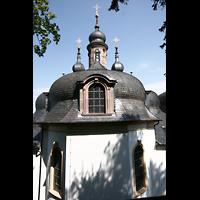 Würzburg, Käppele, Dächer