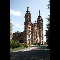 Bad Staffelstein - Vierzehnheiligen, Wallfahrts-Basilika (Hauptorgel), Außenansicht