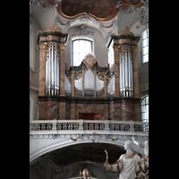 Bad Staffelstein - Vierzehnheiligen, Wallfahrts-Basilika (Hauptorgel), Orgel