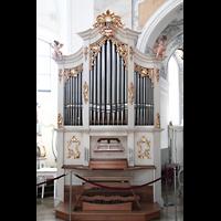Bad Staffelstein - Vierzehnheiligen, Wallfahrts-Basilika (Hauptorgel), Chororgel