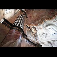 Bad Staffelstein - Vierzehnheiligen, Wallfahrts-Basilika (Hauptorgel), Orgel perspektivisch