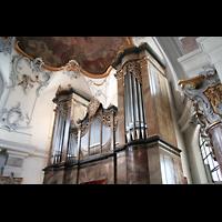 Bad Staffelstein - Vierzehnheiligen, Wallfahrts-Basilika (Hauptorgel), Hauptorgel
