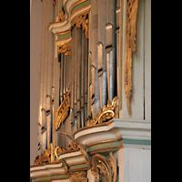 Berlin (Lichtenberg), Kirche zur frohen Botschaft, Karlshorst (Amalien-Orgel), Orgeldetail