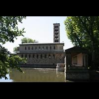 Potsdam, Friedenskirche am Park Sanssouci, Seitenansicht