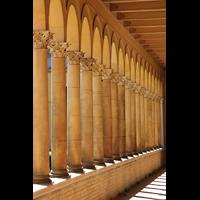 Potsdam, Friedenskirche am Park Sanssouci, Säulen des Kreuzgangs