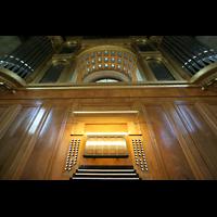 Potsdam, Friedenskirche am Park Sanssouci, Orgel und Spieltisch