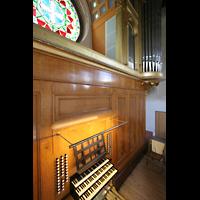 Potsdam, Friedenskirche am Park Sanssouci, Spieltisch und Orgel