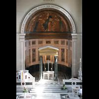 Potsdam, Friedenskirche am Park Sanssouci, Chorraum von der Orgelempore aus
