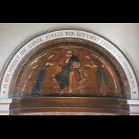 Potsdam, Friedenskirche am Park Sanssouci, Venezianisches Mosaik aus dem 13. Jh. in der Apsis