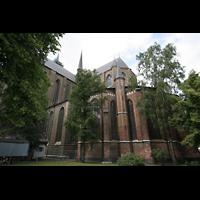 Rostock, St. Marien (Turmorgel), Chor von außen