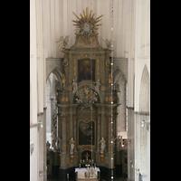 Rostock, St. Marien (Turmorgel), Hauptaltar im Ostchor
