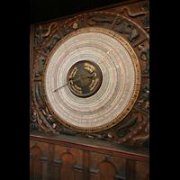 Rostock, St. Marien (Turmorgel), Astronomische Uhr