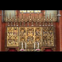 Güstrow, Ev.-Luth. Pfarrkirche St. Marien, Altar