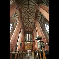 Güstrow, Ev.-Luth. Pfarrkirche St. Marien, Innenraum und Gewölbe
