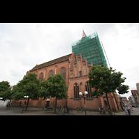 Güstrow, Ev.-Luth. Pfarrkirche St. Marien, Außenansicht
