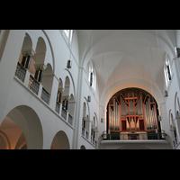 Hamburg, Domkirche St. Marien, Orgel mit Galerie