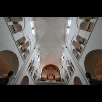 Hamburg, Domkirche St. Marien, Hauptschiffgewölbe und Orgel