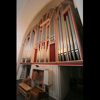 Hamburg, Domkirche St. Marien, Orgel mit Spieltisch