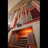 Hamburg, Domkirche St. Marien, Orgel und Spieltisch