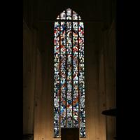Hamburg, St. Katharinen (Chororgel), Großes Fenster im Chor