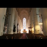 Hamburg, St. Katharinen (Chororgel), Innenraum