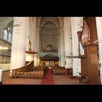 Hamburg, St. Katharinen (Chororgel), Chororgel und Hauptorgel im Bau (Rückpositiv)