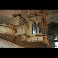 Hamburg, St. Katharinen (Chororgel), Orgelempore