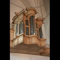 Hamburg, St. Katharinen (Chororgel), Emporenbrüstung mit Rückpositiv