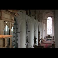 Hamburg, St. Katharinen (Chororgel), Blick von der Orgelempore zum Chor