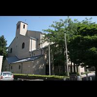 Mainz - Bretzenheim, St. Bernhard, Kirche von außen