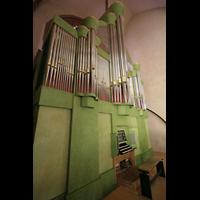 Oppenheim, St. Katharinen, Orgel mit Spieltisch